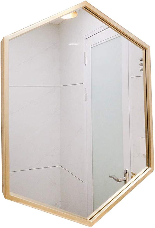 ZYear Art Wall Mirror Rectangular Simple Modern Vanity Mirror Living Room Entrance Hallway (Size   15.7in23.6in)