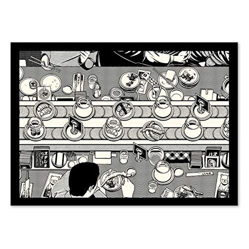 Wall Editions Art-Poster - Sushi Bar - Paiheme Studio