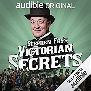 Stephen Fry's Victorian Secrets audiobook cover art