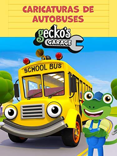 El Garaje de Gecko – Caricaturas de Autobuses