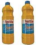 BAUTZ'NER Senf mittelscharf – 2er Set Flasche Mittelscharfer Senf– Original