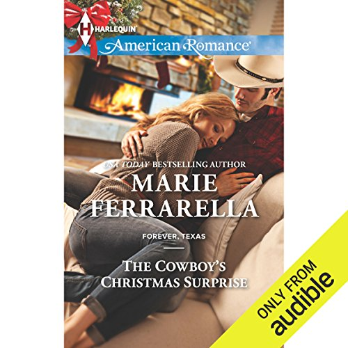 The Cowboy's Christmas Surprise audiobook cover art