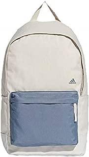 Adidas CG0521 Classic Backpack, Chalk Pearl/Raw Steel