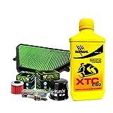 Kit tagliando Bardahl XTC 10W30 filtro olio trasmissione aria candele X-ADV 750