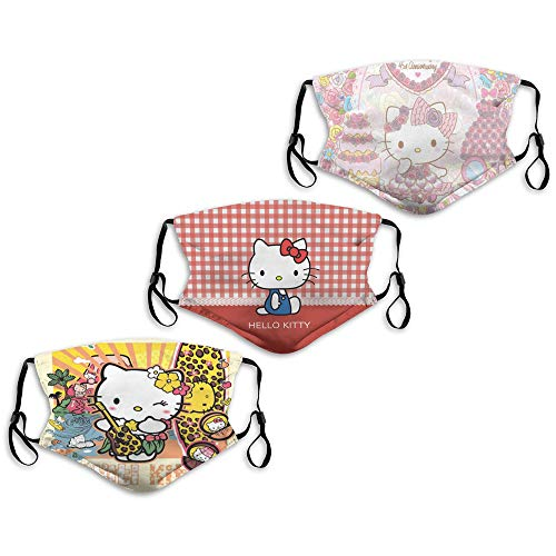 (50% OFF) Hello Kitty Reusable Face Masks 3-Pack $8.50 – Coupon Code