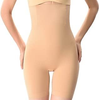 MissPretty Shapewear for Women Tummy Control Shorts High Waist Panty Mid Thigh Body Shaper Bodysuit Shaping