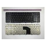 IFINGER Teclado Español Compatible con portátil HP Pavilion G6-2000 AER36E01210 AER36P00210 AER36P01320 EN Negro Repuesto