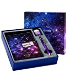 Starry Constellation Lock Diary Set Gift Box with Pen & Tapes for Kids Girls Boys Women Combination Lock Journal Notebook Best Luxury Travel Writing Diary for Anniversary Birthday Holiday (Virgo)