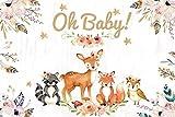 Tropical Jungle Safari 1st bebé recién Nacido Fiesta de cumpleaños Photozone sesión Familiar fotografía telón de Fondo Foto de Fondo A14 5x3ft / 1,5x1m