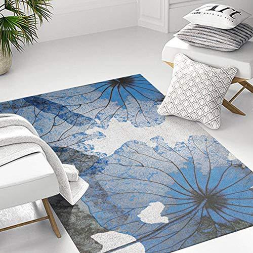 AQUYY Modern minimalistisch tapijt, 120x160cm, vervagingsbestendig en gemakkelijk te reinigen vlekken voor salontafels, eetkamers, slaapkamers, woonkamer vloerbedekking