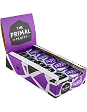 The Primal Pantry Protein Bars - 15 x 55g - Plant Based, Dairy Free, Gluten Free, Soya Free, Vegan, Paleo, 15g Protein per bar, Hemp Protein -Cocoa Brownie