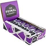 The Primal Pantry Barritas Proteinas - 15x55g - Proteina vegana, 15g Proteina, Barritas Energeticas Ciclismo, sin gluten, 100% Natural, Paleo (Cocoa Brownie)