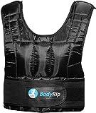 BodyRip Unisex Premium Weighted Vest-Black, 5 kg