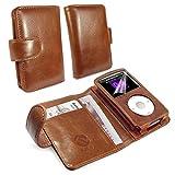 Tuff-Luv Vintage - Funda para reproductor MP3 Apple iPod Classic, marrón