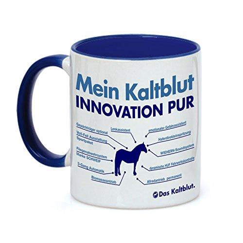 Siviwonder Tasse Innovation - Mein KALTBLUT - Pferde Pferd Teileliste Pferd Kaffeebecher