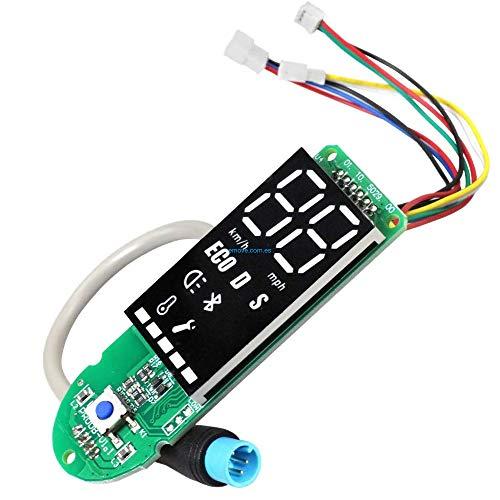 amalibay Pantalla LED de Panel de Control BLE para los Modelos M365, 1S, Essential, Pro del Patinete eléctrico Xiaomi