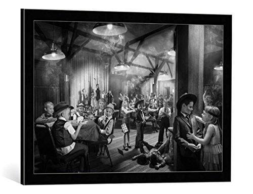 Kunst für Alle Cuadro con Marco: Simon Newbury End of Year Class...