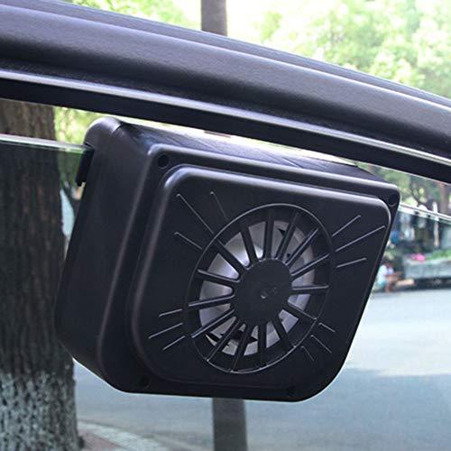Kylewo Auto Ventilator Kuehler System, Universal Auto Solar Lüftung Kühlung Belüftungssystem Heizung (110 * 60mm)