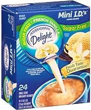 International Delight, Sugar Free, French Vanilla Non Dairy Creamer, 24 Count Creamer Singles (6 boxes)