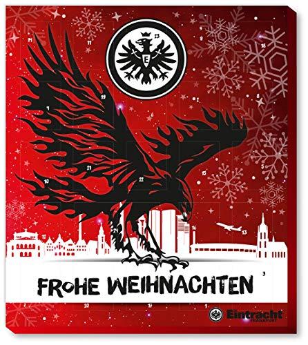 Fussball Eintracht Frankfurt Premium Adventskalender mit Poster Weihnachtskalender
