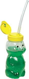 Abilitations Speech Bin Mr Juice Bear Straw Drinking Teaching Cup with Three Straws
