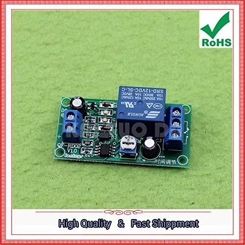 NE555 monostabile 12V Einschaltverzögerung Öffnungssteuerung mit Schließer Schließer 60 Sekunden einstellbar