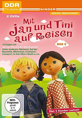 Mit Jan und Tini auf Reisen Box 5 (DDR-TV-Archiv) [2 DVDs]