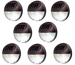 Black Aluminum Solar Cap 15 Lumens Expansive Fence