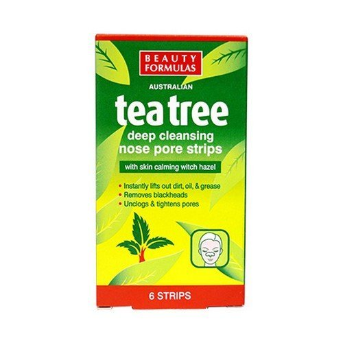 Pack de 2, Beauty Formulas de Arbol de Tea (Tiras para los puntos negros)