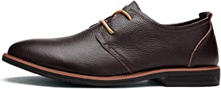 CAIFENG Oxford Shoes para Hombres Zapatos Formales Lace Up Style Ox Fashion Fashion British Style Simple Color Pure (Color...