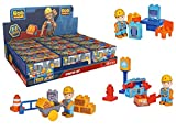 BIG 800057125 - Bob der Baumeister BIG-Bloxx BB Starter Sets, 3- fach sort