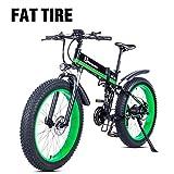 Shengmilo-MX01 Vélo électrique 1000W, vélo de Montagne Pliant, Gros Pneu Ebike, 48V 13AH
