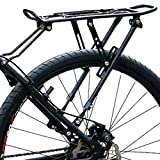 NGHSDO Portabultos Bicicleta La Bici de Ciclo Posterior de la Bicicleta MTB portaequipajes portaequipajes Rack 05 (Color : Natural)