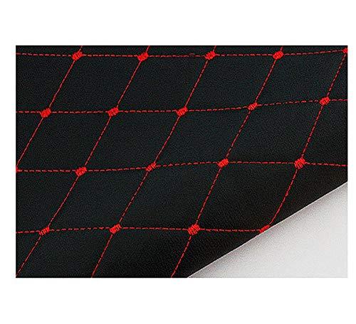 wangk Polipiel Especial Exterior para tapizar,Manualidades,Polipiel Cuero Artificial para Coche tapizar Sintético Tela De Cuero Venta de Polipiel por Metros Ancho 1,5 m-Negro 1.5×3m