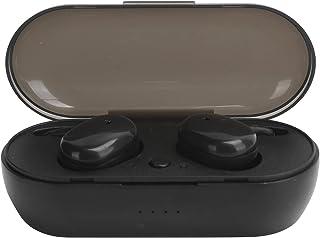 Garsentx Auriculares inalámbricos Y30 Auriculares inalámbricos Bluetooth Diseño táctil Soporte de Sonido estéreo binaural para música, Deportes, películas(Black)