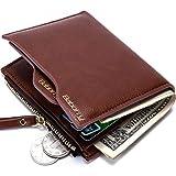 Les Hommes de Portefeuille Men's Wallet Anti-magnétique Identification par radiofréquence RFID Men 's New Wallet Package Package Portefeuille Court Portefeuille Monnaie Clip