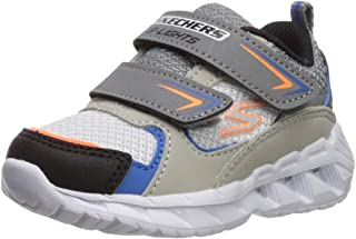 Skechers Magna-Lights - Vendow Boys Sneakers, Grey/Black, 10 US