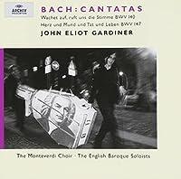 Bach - Cantatas BWV 140, 147 / Holton, Chance, Rolfe Johnson, Varcoe, The Monteverdi Choir, The English Baroque Soloists, Gardiner (2000-10-10)