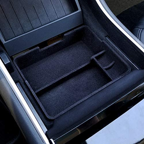 JDMCAR Center Console Organizer Compatible with Tesla Model 3 Model Y Accessories 2017 2020 product image