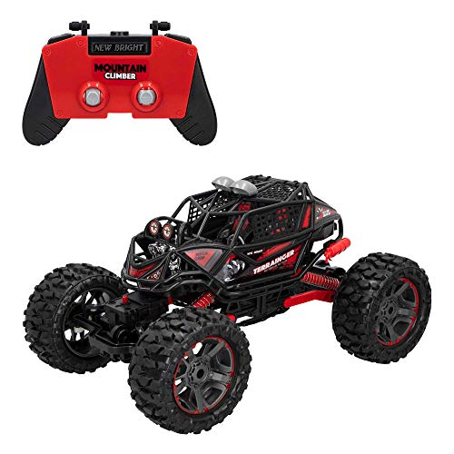 NEW BRIGHT - Coche eléctrico teledirigido, Monster Truck, Buggy rc 4x4, para niños a partir de 8 años