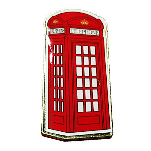 London Red Telephone Box - metallo a forma di magnete del frigorifero, Londra collezione