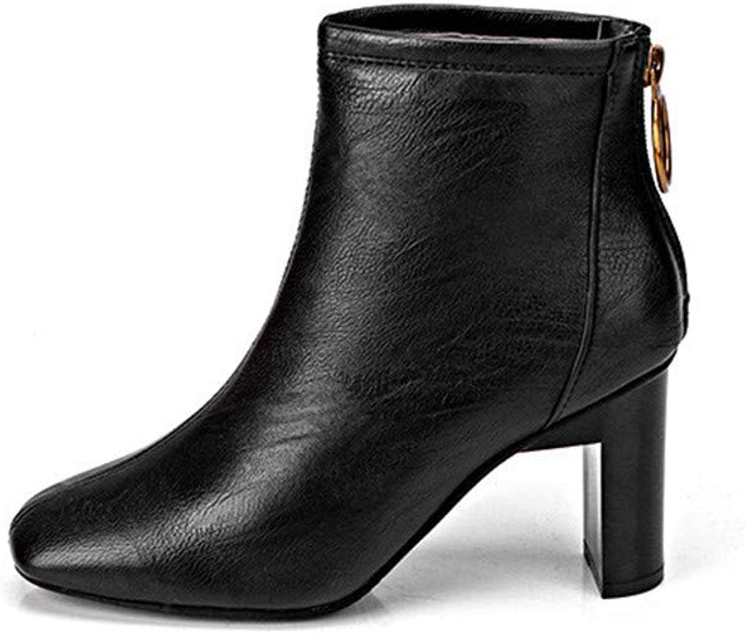 Women Dress High-Heeled Boots, Womens Martin Boots shoes Casual Outdoors Winter shoes