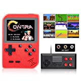 weikin Handheld Game Console,500 Games in 1 Retro Mini Game Console,Portable Pocket 2 Player Support for Connecting TV,Rechargeable Battery Good Gifts for Kids and Adult.