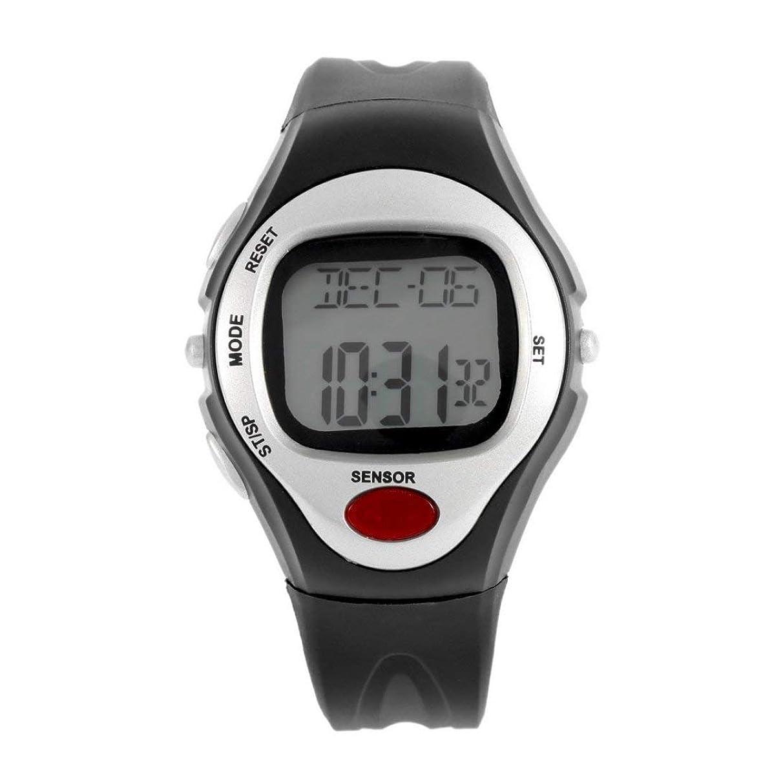 前にスマッシュ捧げるSwiftgood 心拍数モニター、歩数計の腕時計、フィットネスウォッチデジタル腕時計付きフィットネストラッカー
