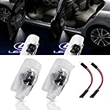 URSTOUD LED Car Door Logo Light Courtesy Projector Laser Welcome Lights 3D Ghost Shadow Light Lamps Accessories The Replacement for RX/ES/GX/LS/LX/IS/GS/RC/UX Series(2 Pack)