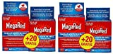 Megared - Omega 3, 60capsulas. Regalo 20capsulas Pack 2un.
