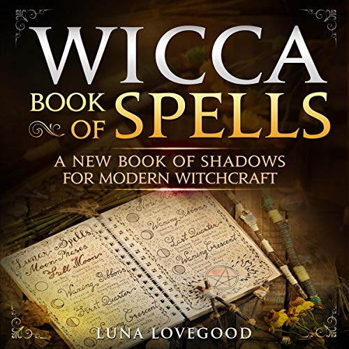 Wicca Book of Spells  By  cover art