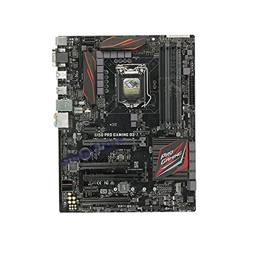 Newwiee Placas Base Fit for ASUS B150 Pro Gaming D3 LGA 1151 6Th Generation Core I7 I5 I3 Placa Base Placa Base Intel DDR3 Overclocking 64GB PCI-E 3.0 M.2