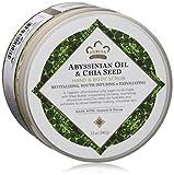Abyssinian Oil and Chia Seed Body Scrub by Nubian Heritage for Unisex - 12 oz Body Scrub