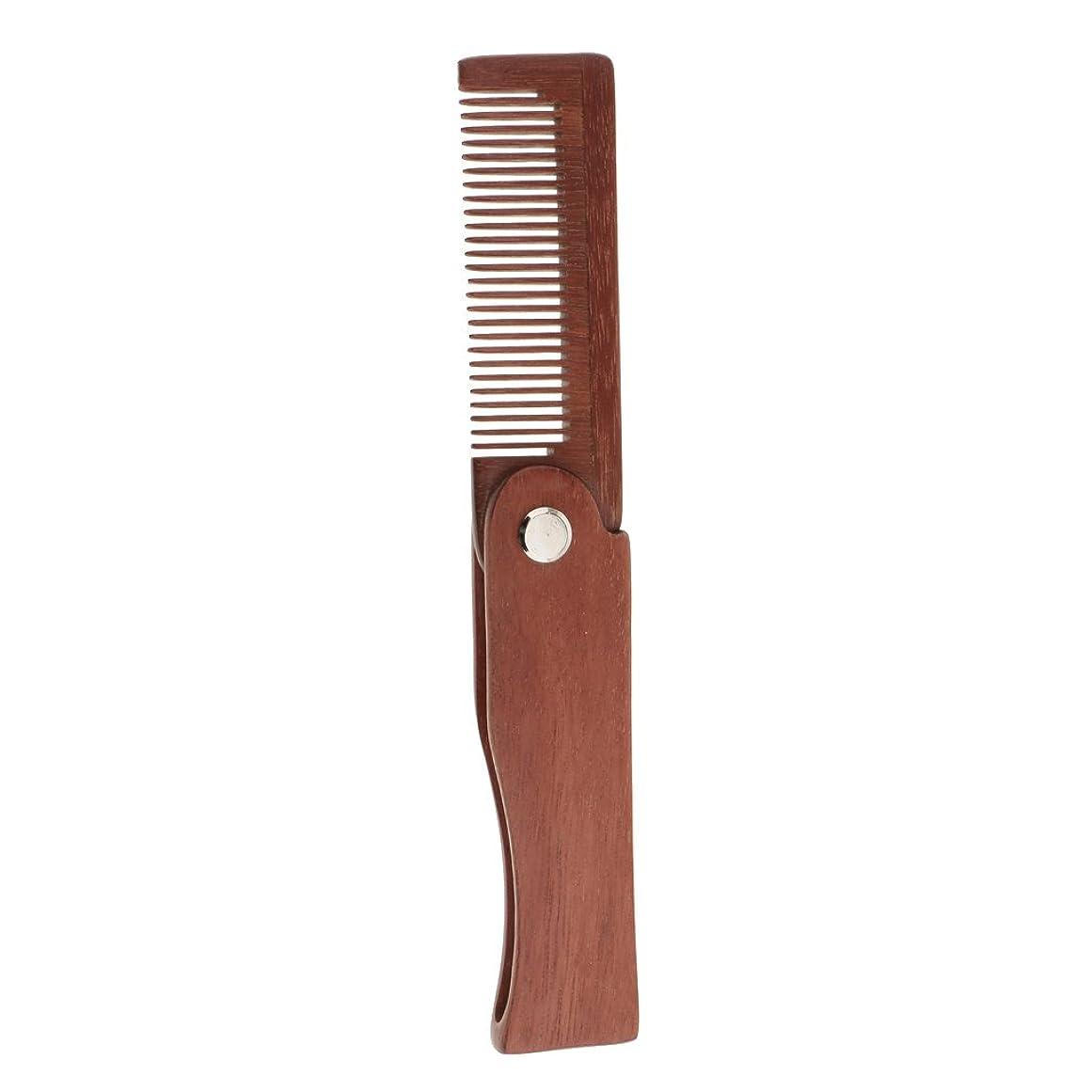 小道具思い出すメロディアスDYNWAVE メンズ 折りたたみ ひげひげ剃り櫛 男性 ひげひげブラシ